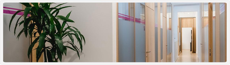 Gang unseres Büros für Personalverrechnung in Graz